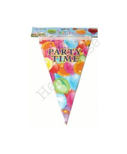 Party Time Bunting Flags