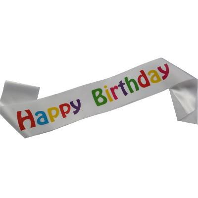 Psychedelic Birthday Sash