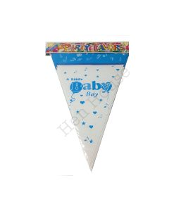 A Little Baby Boy Bunting