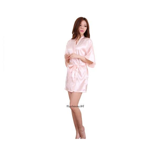 Bride Robe Pink