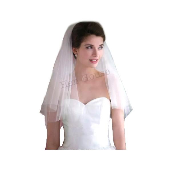 Simple White Veil
